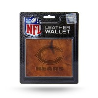 NFL Chicago Bears Embossed Leather Billfold Wallet