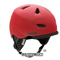 bern MACON HARD HAT WINTER MODEL バーン ヘルメット MATTE RED Mサイズ