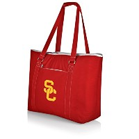 NCAA USC Trojans Tahoe Extra Large断熱クーラートートバッグ、レッド