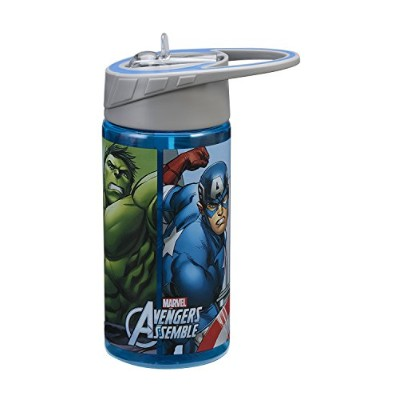 Tritan Water Bottle - Marvel - Avengers Assemble 14oz Cup Toys New 26275