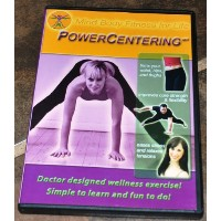 PowerCentering DVD, Workout Video, Mind Body Fitness for Life