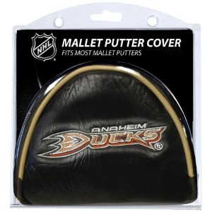 NHL Anaheim Ducks Golf Malletパターカバー