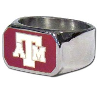 Siskiyou Sports CBOR26-12 Texas A&M Steel Ring - Size 12