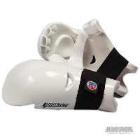 ProForce Lightning Sparring Gloves / Punches - White Small 1 packs
