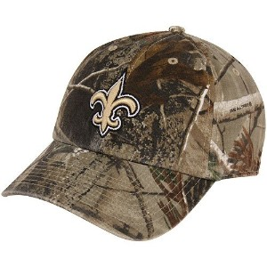 ' 47Brand New Orleans Saints nflリアルツリーカモClean Upキャップ