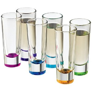 Libbey Troyano Colors Shot Glass Set, 12-Piece by Libbey