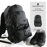 [pup]MAKAVELIC/マキャベリック バックパック FEARLESS UNION BACKPACK 3107-10126[メンズ リュックサック リュック バックパック バッグ 鞄 撥水...