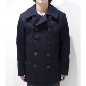 BUZZ RICKSON'S バズリクソンズ ENLISTED MEN'S OVERCOAT ピーコート『PEA COAT NAVAL CLOTHING FACTORY』【アメカジ・ミリタリー...