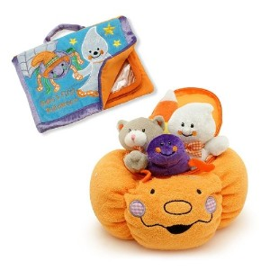 Baby's My First Pumpkin Halloween Play Set & Photo Album Gift COMBO by Genius Baby Toys