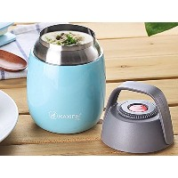 CHOJI Stainless Steel Thermos cup Food with Containers Insulated Thermal Lunch Box Soup Mug...