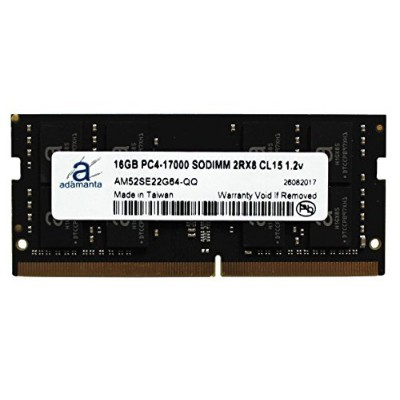 Adamanta 16 GB (1 x 16gb) ノートPCメモリアップグレードfor Lenovo ThinkPad x270 ddr4 2133 MHz pc4 – 17000 SODIMM...