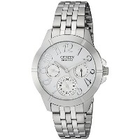 時計 Citizen シチズン Women's ED8100-51A Analog Display Japanese Quartz Silver Watch ウィメンズ レディース 女性用 ...