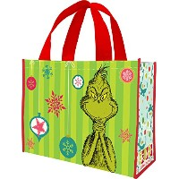 Dr. Seuss Grinchmas Large Recycled Shopper Tote by Vandor