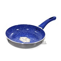 Marble Coated 8 Inch Ceramic Fry Pan Non Stick ECO Friendly Skillet Griddle by M.D.S Cuisine...