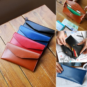 [Made In Korea][SWEET MANGO] PLEPIC Episode Pencil Wallet - [ Pencil Case Pen Pouch Pencil Box...