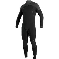 オニール メンズ サーフィン スポーツ Psycho 1 Z.E.N. Zip FSW 4/3 Wetsuit - Men's Black/Graphite