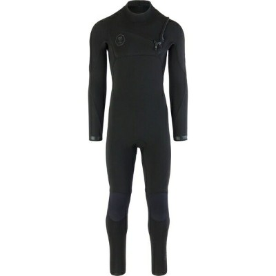 ヴィスラ メンズ サーフィン スポーツ The 7 Seas 4/3 Chest Zip Wetsuit - Long-Sleeve - Men's Stealth