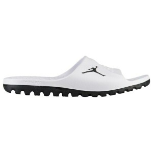 ジョーダン メンズ サンダル シューズ Men's Jordan Super.Fly Team Slide 2 White/Black/Pure Platinum