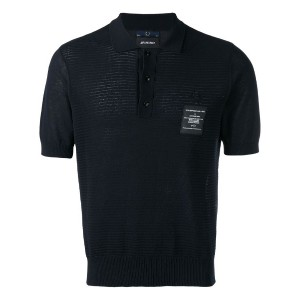 Fred Perry X Art Comes First - パッチ装飾 ニットポロシャツ - men - コットン - 40