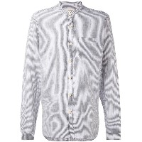 Oliver Spencer - Hartley Stripe Grandad シャツ - men - コットン/リネン - 17 1/2