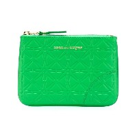 Comme Des Garçons Wallet - Color Embossed A コインケース - unisex - カーフレザー - ワンサイズ