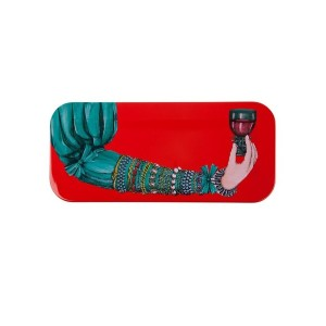 Fornasetti - Gass col red トレー - unisex - wood - ワンサイズ