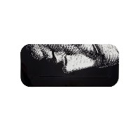 Fornasetti - Profile on black トレー - unisex - wood - ワンサイズ