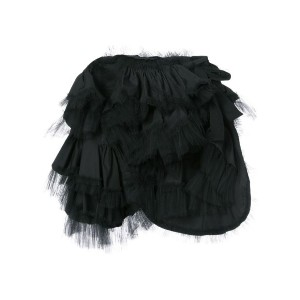 Comme Des Garçons Tricot - ラッフルスカート - women - コットン/ナイロン - S