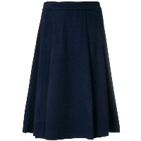 Ermanno Scervino - pleated A-line skirt - women - バージンウール - 44