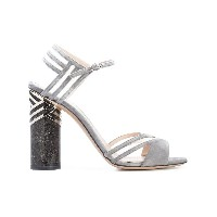 Nicholas Kirkwood - 105mm Zaha sandals - women - カーフレザー/レザー - 39.5