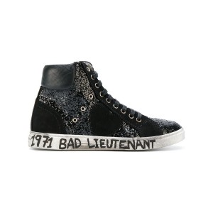 Saint Laurent - Bad Lieutenant ハイカットスニーカー - women - コットン/rubber - 36