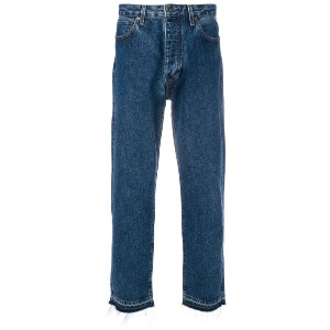 Levi's: Made & Crafted - クロップドストレートジーンズ - men - コットン - 36