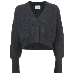 Le Kasha - cropped cardigan - women - コットン - S/M