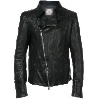 Guidi - biker jacket - men - ホースレザー(馬革) - 48