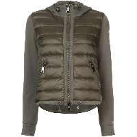Moncler - padded front hooded jacket - women - コットン/Polyimide - L