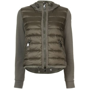 Moncler - padded front hooded jacket - women - コットン/Polyimide - S