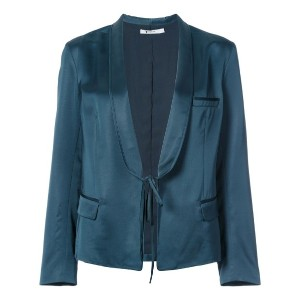 Alexander Wang - tailored tie fastened jacket - women - アセテート/ウール - S