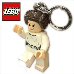 LEGO レゴ スター・ウォーズ プリンセス・レイア LEDライト キーホルダーSTAR WARS PRINCESS LEIA LED KEY LIGHT