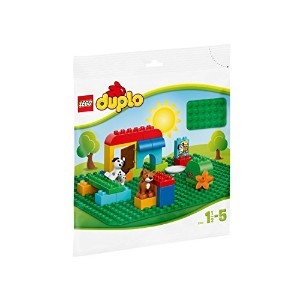 LEGO DUPLO Large Green Building Plate [並行輸入品]