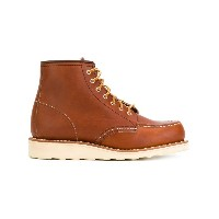 Red Wing Shoes - レースアップブーツ - women - カーフレザー/レザー/rubber - 6