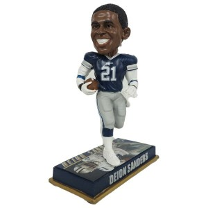 NFL カウボーイズ ディオン・サンダース レジェンドプレイヤー ボブルヘッド Forever Collectibles レアアイテム