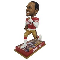 NFL 49ers ジェリー・ライス レジェンドプレイヤー ボブルヘッド Forever Collectibles レアアイテム