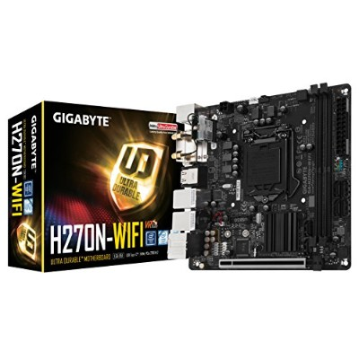 GIGABYTE GA-H270N-WIFI マザーボード [Intel H270チップセット搭載] MB3963