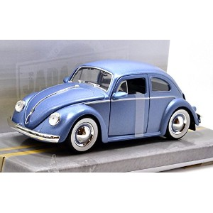 """JADA TOYS 1:24SCALE BIGTIME MUSCLE """"1959 VOLKSWAGEN BEETLE""""(BLUE) ジェイダトイズ 1:24スケール ビッグタイムマッスル 「1959..."""