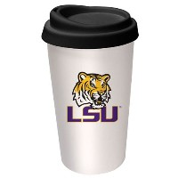 NCAA LSU Fightin Tigersロゴ旅行マグ