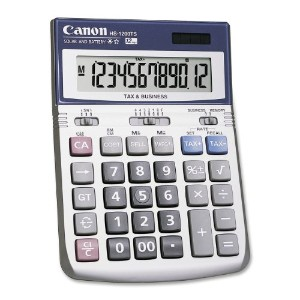 HS1200TS Minidesk Calculator, 12-Digit LCD (並行輸入品)