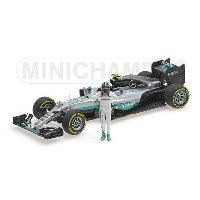 1/43 ミニチャンプス MINICHAMPS Mercedes AMG Petronas Motorsport F1 W07 Hybrid Abu Dhabi GP World Champion...