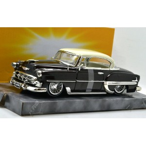 JADA TOYS 1:24SCALE MiJo EXCLUSIVE - 1953 CHEVY BEL AIR(BROWN)ジェイダトイズ 1:24スケール ストリートロウ MiJoショップ限定195...