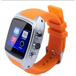 X01 smart watch Dual core 512MB Ram 4GB Rom sim card Android 4.4 Bluetooth WIFI Camera GPS