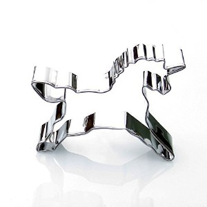 Unicorn Cookie Cutter - Stainless Steel by Sweet Cookie Crumbs